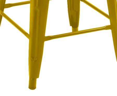 Banqueta de Aço York - Amarela | WestwingNow