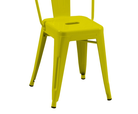 Cadeira Tolix - Amarela | WestwingNow