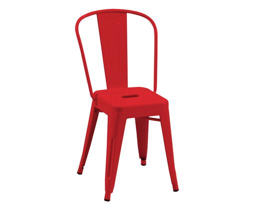 Cadeira Tolix - Vermelha, Vermelho   WestwingNow