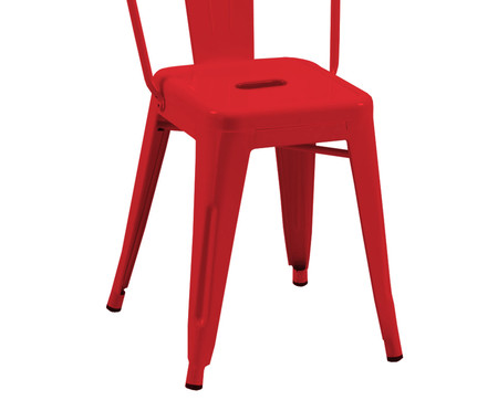 Cadeira Tolix - Vermelha | WestwingNow