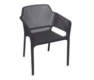 Cadeira Vega com Braço - Preta | WestwingNow