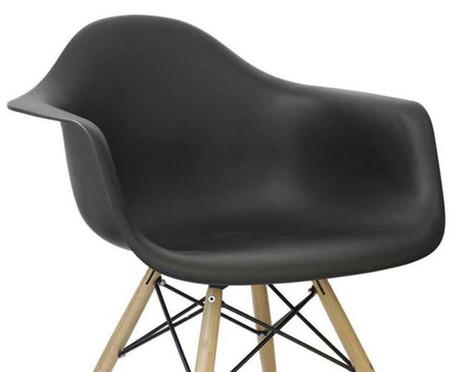 Cadeira Finella Wood - Preta | WestwingNow