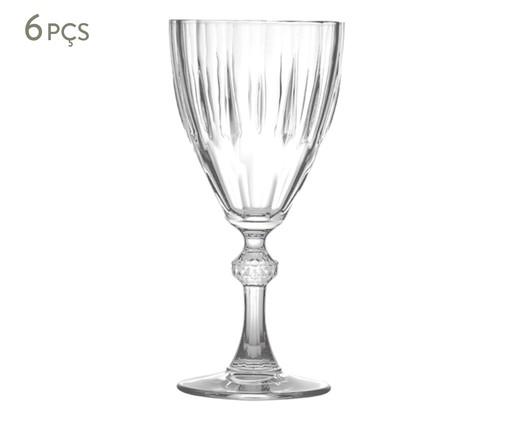 Jogo de Taças para Vinho em Vidro Cana - Transparente, transparente | WestwingNow