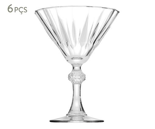 Jogo de Taças para Martini em Vidro Sara - Transparente, transparente | WestwingNow
