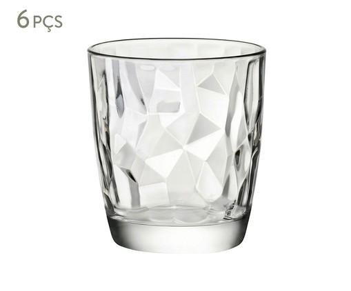 Jogo de Copos para Água em Vidro Iara - Transparente, transparente | WestwingNow