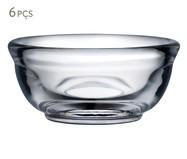 Jogo de Saladeiras em Vidro Holly 06 Pessoas  - Transparente | WestwingNow