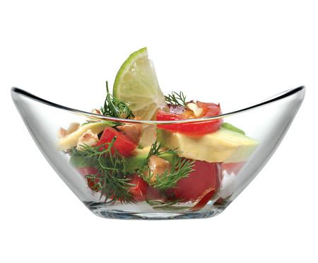 Jogo de Saladeiras em Vidro Cindy 06 Pessoas - Transparente | WestwingNow