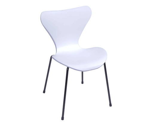 Cadeira Jacobsen - Branca, Branco   WestwingNow