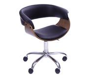 Cadeira de Escritório com Rodízios Elba - Preta | WestwingNow