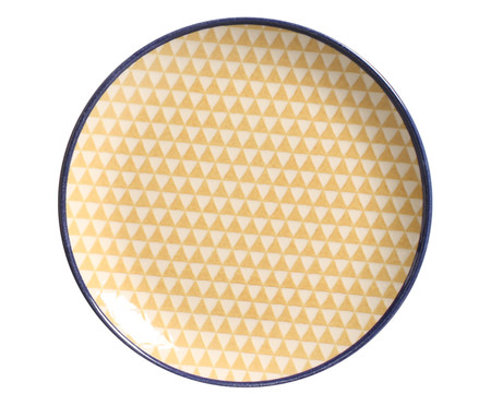 Jogo de Jantar em Cerâmica Coup Triângulo Westwing Collection 06 pessoas - Colorido | WestwingNow
