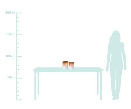 Jogo de Vasos Mira - Rosé e Branco | WestwingNow