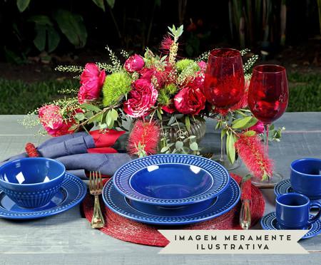 Jogo de Xícaras De Cerâmica para Café 75 ml Roma - Azul Navy | WestwingNow