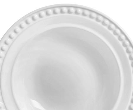 Jogo de Pratos Fundos Atenas Branco - 06 Pessoas | WestwingNow