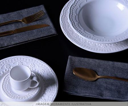 Jogo de Xícaras para Café em Cerâmica Madeleine - Branco | WestwingNow