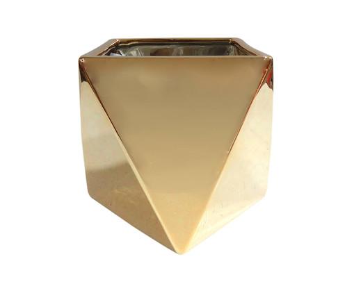 Vaso de Cerâmica Paracambi - Dourado, Dourado | WestwingNow