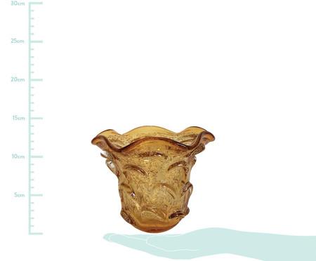 Vaso de Vidro Rio -  Âmbar | WestwingNow