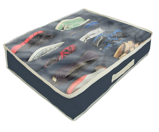 Organizador para Sapatos Slots - Azul Marinho, azul | WestwingNow