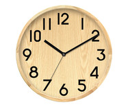 Relógio de Parede Jo - Marrom e Preto | WestwingNow