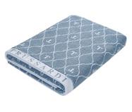 Toalha de Banho Speciale - Azul e Branco | WestwingNow