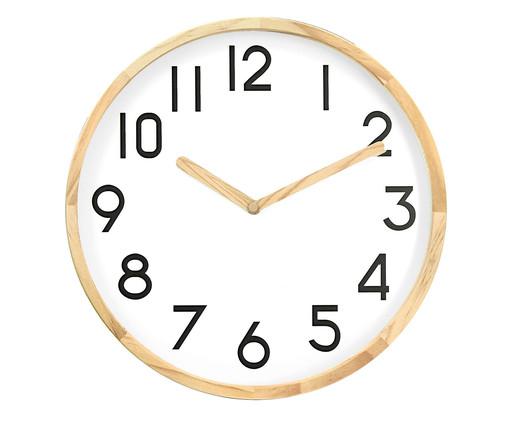Relógio de Parede Anne - Branco, Branco, Rosé | WestwingNow