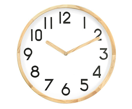 Relógio de Parede Anne - Branco | WestwingNow