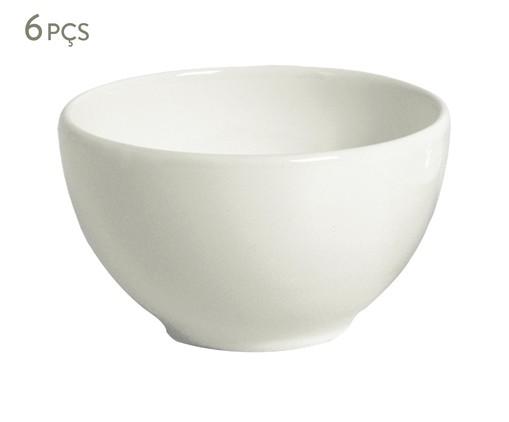 Jogo de Bowls em Cerâmica Coup Stoneware Vit - Cru, Branco | WestwingNow