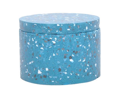 Pote Decorativo Hilton - Azul, Azul | WestwingNow