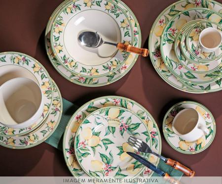 Jogo de Xícaras e Pires para Café Mônaco Limone - Colorido | WestwingNow