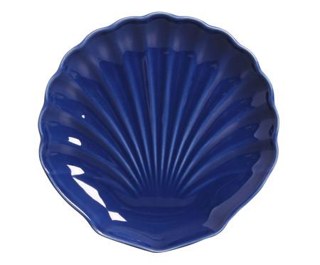 Jogo de Pratos para Sobremesa em Cerâmica Ocean - Azul   WestwingNow
