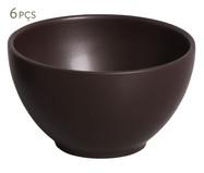 Jogo de Bowls em Cerâmica Coup Stoneware Oak - 06 Pessoas | WestwingNow
