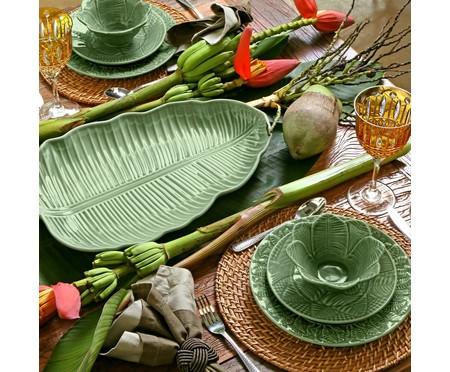 Jogo de Bowls Leaves - Verde | WestwingNow