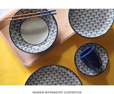 Jogo de Xícaras para Chá com Pires Coup Leque - Azul | WestwingNow