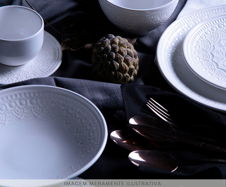 Jogo de Bowls em Cerâmica Agra - Branco | WestwingNow