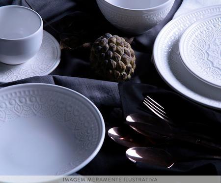 Jogo de Bowls em Cerâmica Agra Branco - 06 Pessoas | WestwingNow