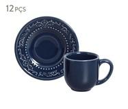 Jogo de Xícaras para Café  Acanthus - Deep Blue | WestwingNow
