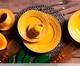 Jogo de Pratos para Sobremesa em Cerâmica Acanthus 06 Pessoas - Mostarda, amarelo | WestwingNow