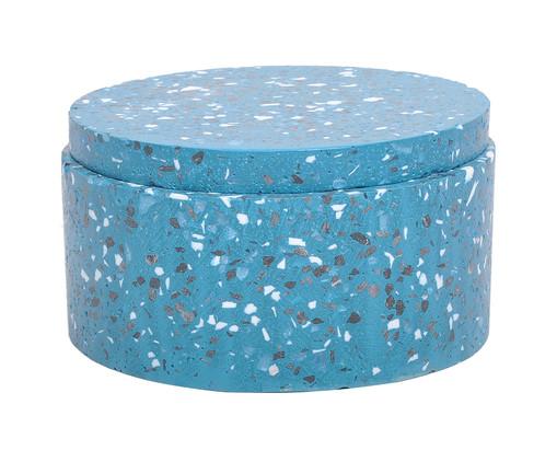 Pote Decorativo Hilton II - Azul, Azul | WestwingNow