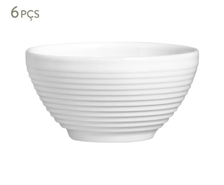Jogo de Bowls Argos - Branco | WestwingNow