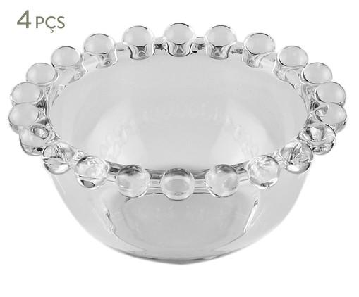 Jogo de Bowls em Cristal Pearl - Transparente, Transparente | WestwingNow