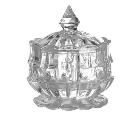 Pote Decorativo de Vidro Tamar - Transparente | WestwingNow