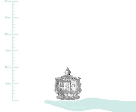 Pote Decorativo Tamar - Transparente | WestwingNow