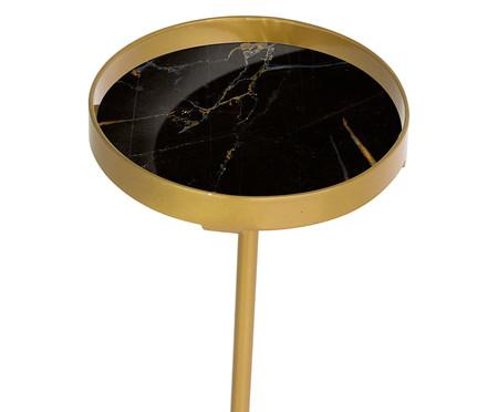 Mesa de Apoio Luna - Nero e Dourada | WestwingNow