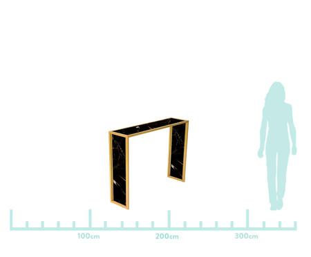 Aparador Edge - Nero e Dourado | WestwingNow