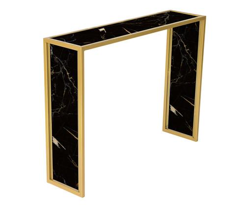 Aparador Edge - Nero e Dourado, preto,dourado | WestwingNow