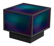 Mesa de Centro Edge - Gradiente Azul e Preto | WestwingNow