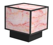 Mesa de Centro Edge - Trópico Rosa e Preta | WestwingNow