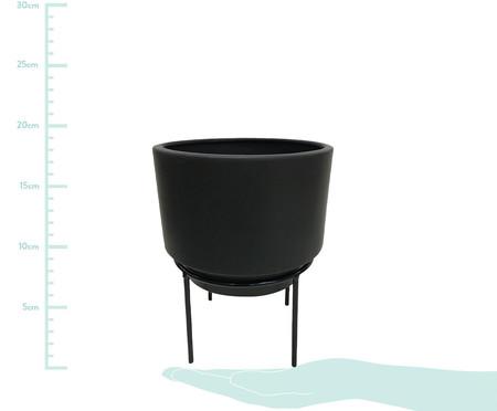 Vaso de Cerâmica Faiga - Preto | WestwingNow