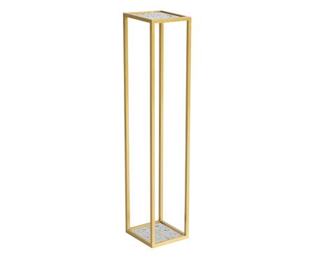 Coluna Gatsby - Terrazzo e Dourada   WestwingNow