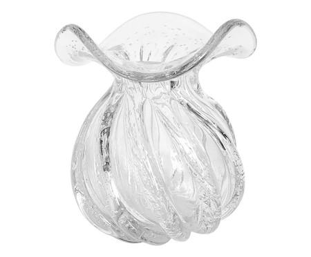 Vaso de Vidro Letícia - Transparente | WestwingNow