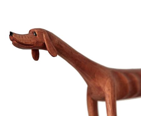 Escultura Cachorro Andando - Marrom | WestwingNow